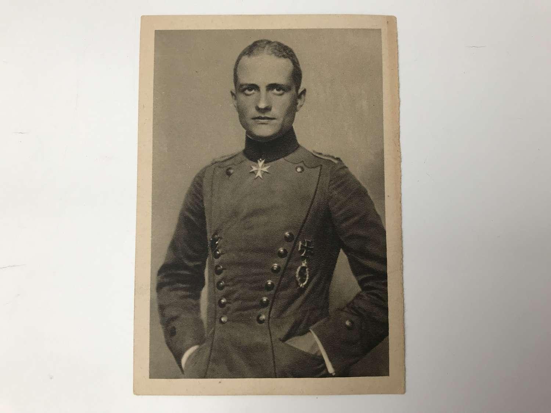 Postcard of Manfred Von Richthofen