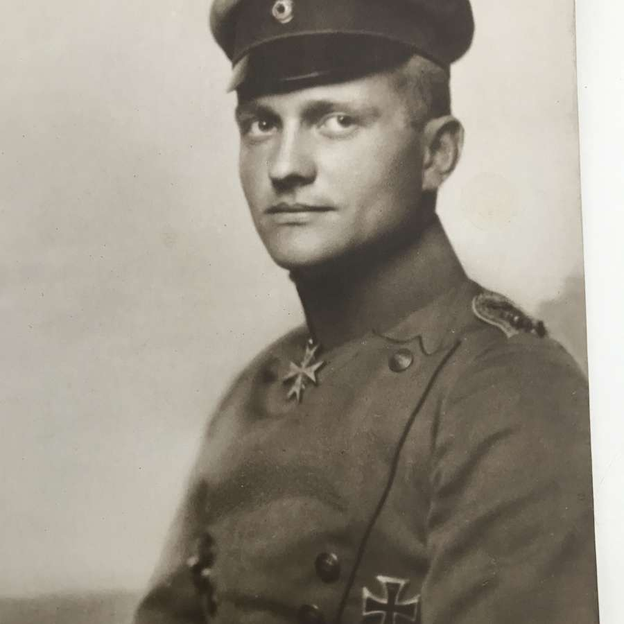 Sanke  postcard Of Manfred Von Richthofen(Red baron)
