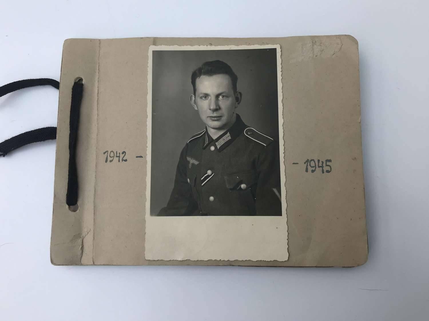 Mid war German Mountain troops photograph album