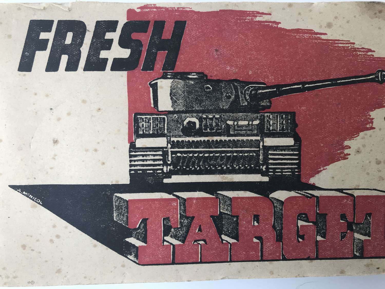 (Fresh target) British army booklet on axis equipment dated 1943