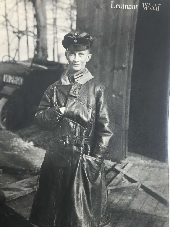 Sanke postcard of German fighter ace Kurt Wolff