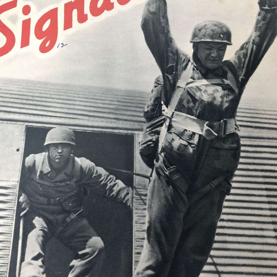 Signal magazine dated July 41 the Battle of Crete