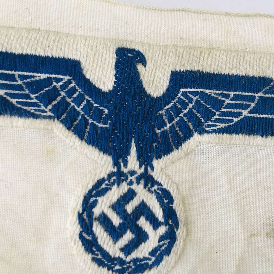 Kriegsmarine Machine woven Breast Eagle