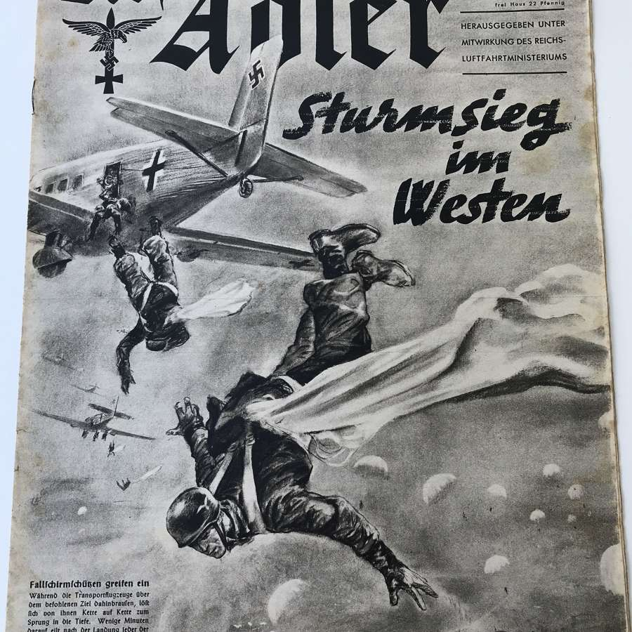 The Alder magazine dated May 1940