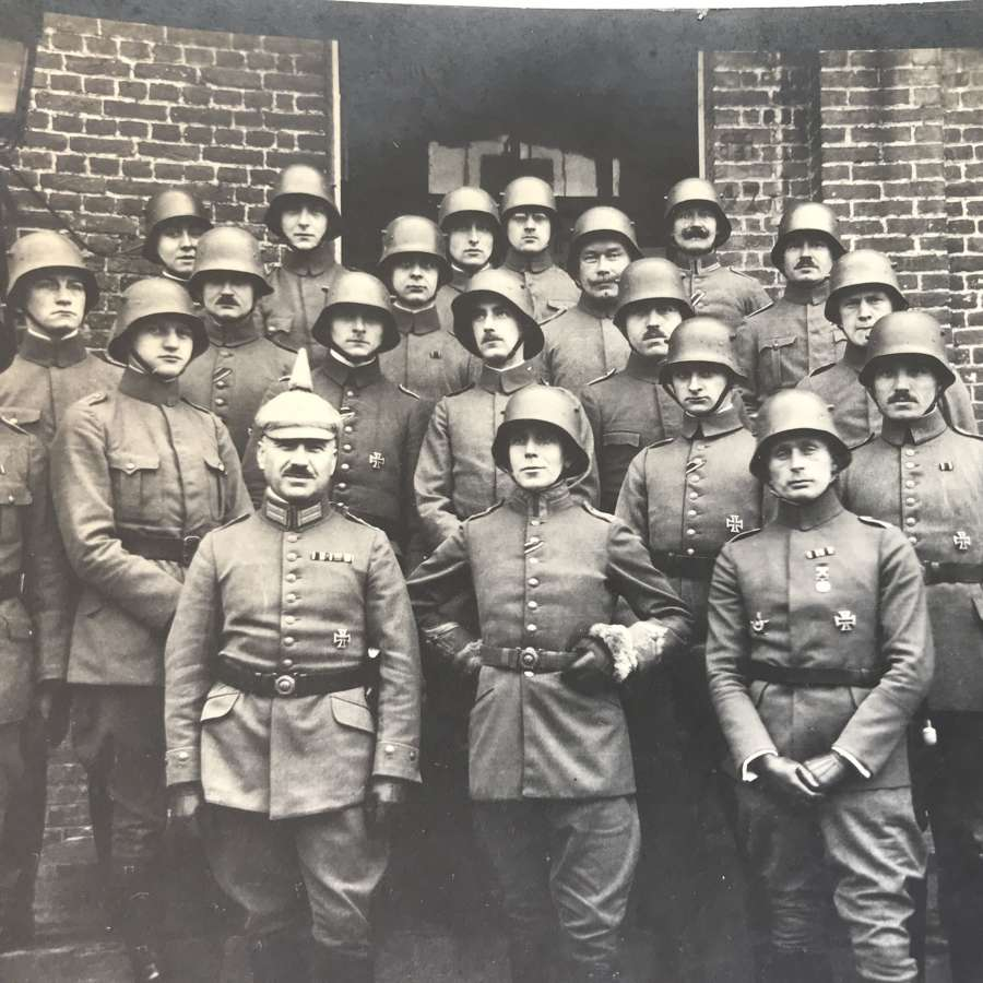 German officers group photo 1917