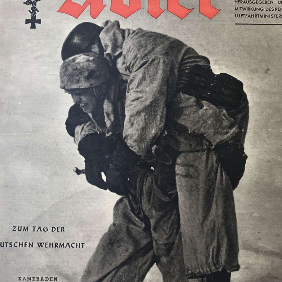 A copy of The Alder magazine dated March 1943