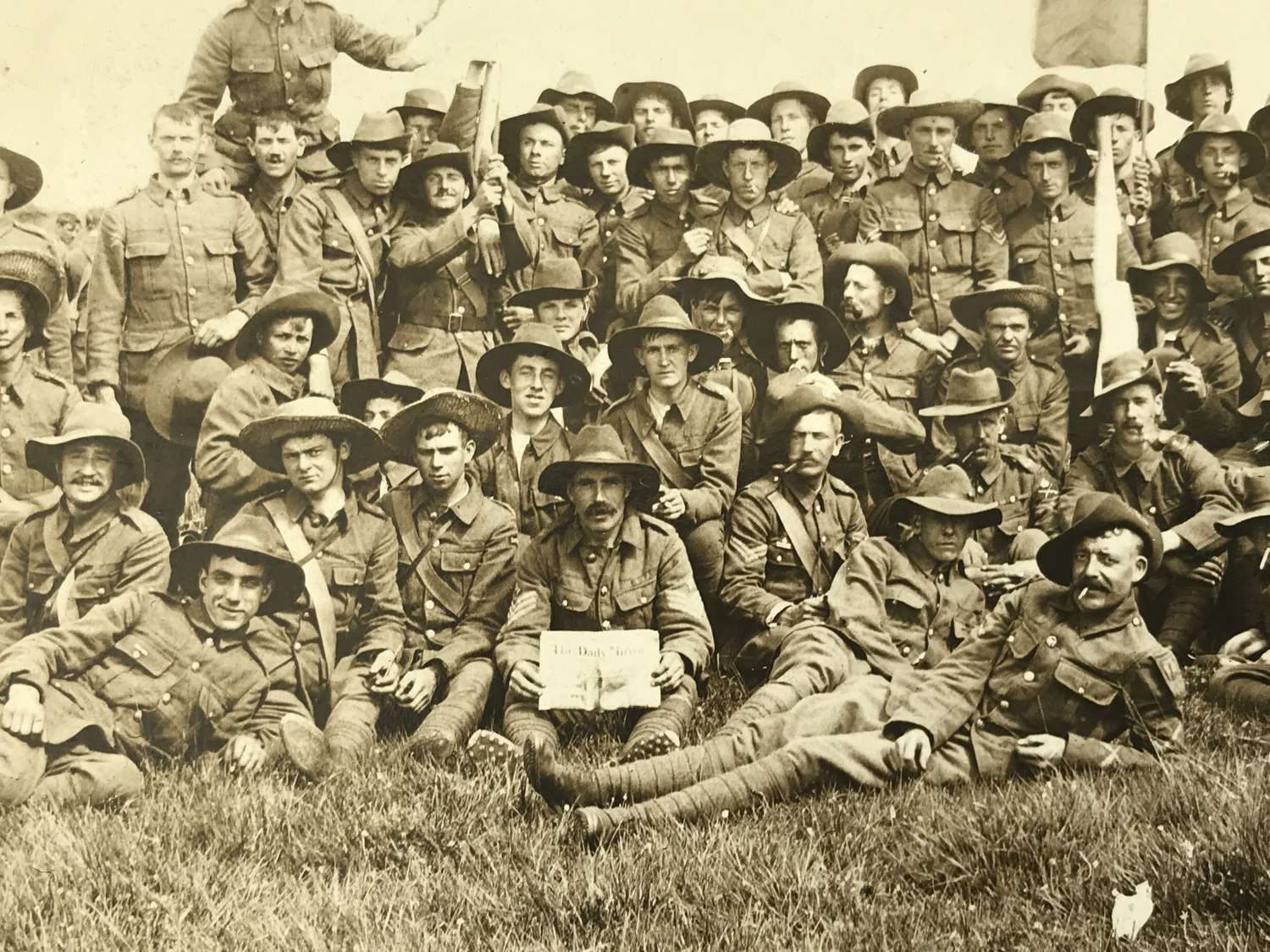 Photograph of Australian/ Commonwealth troops