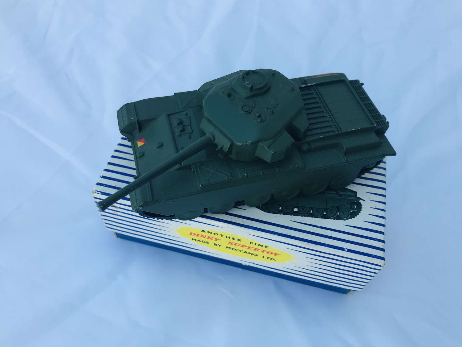Dinky super toy centurion tank in its original box