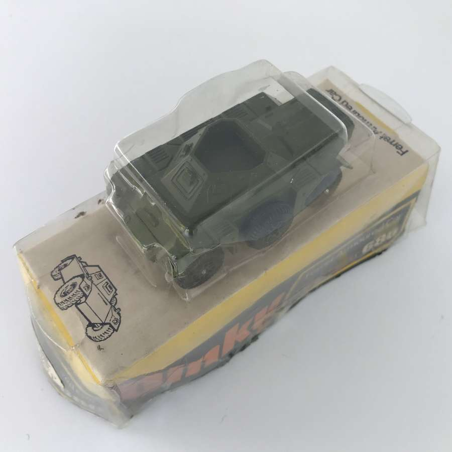 Dinky Ferret armoured car with original packaging