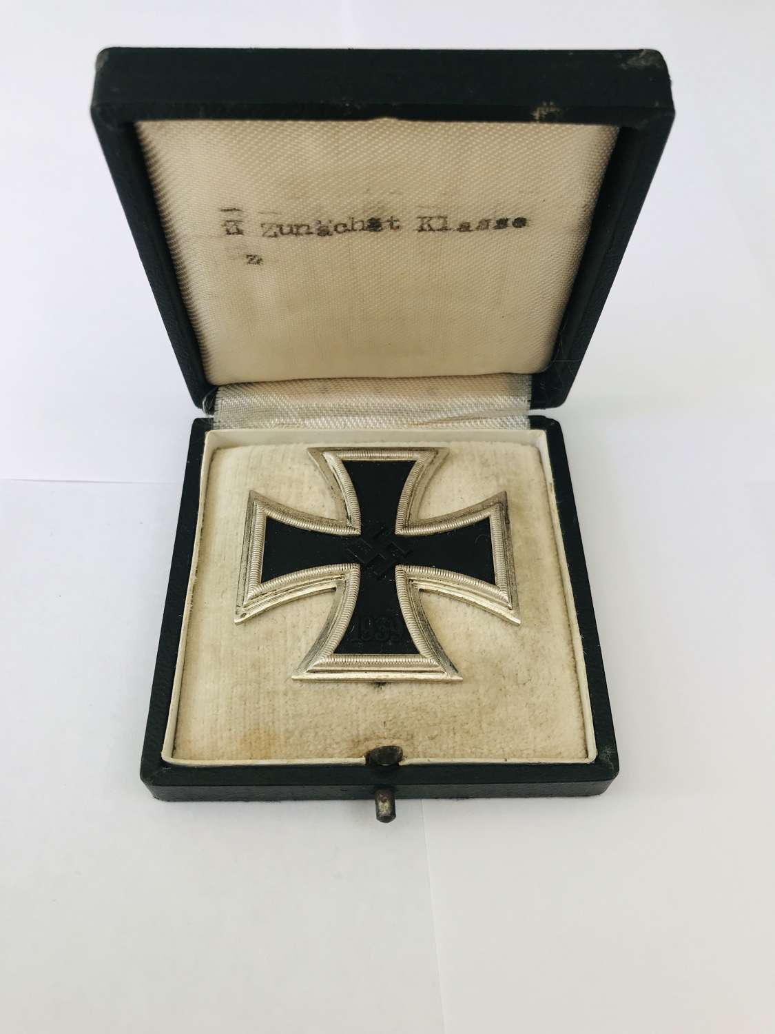Boxed iron Cross first class
