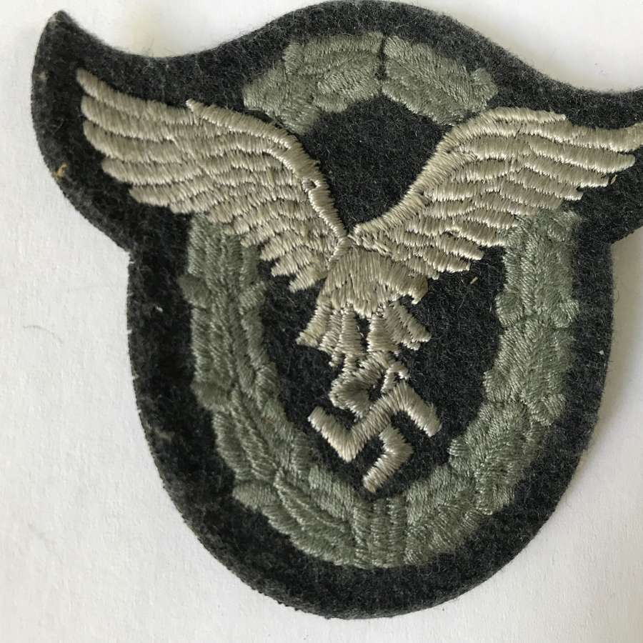 Luftwaffe pilots badge in cloth