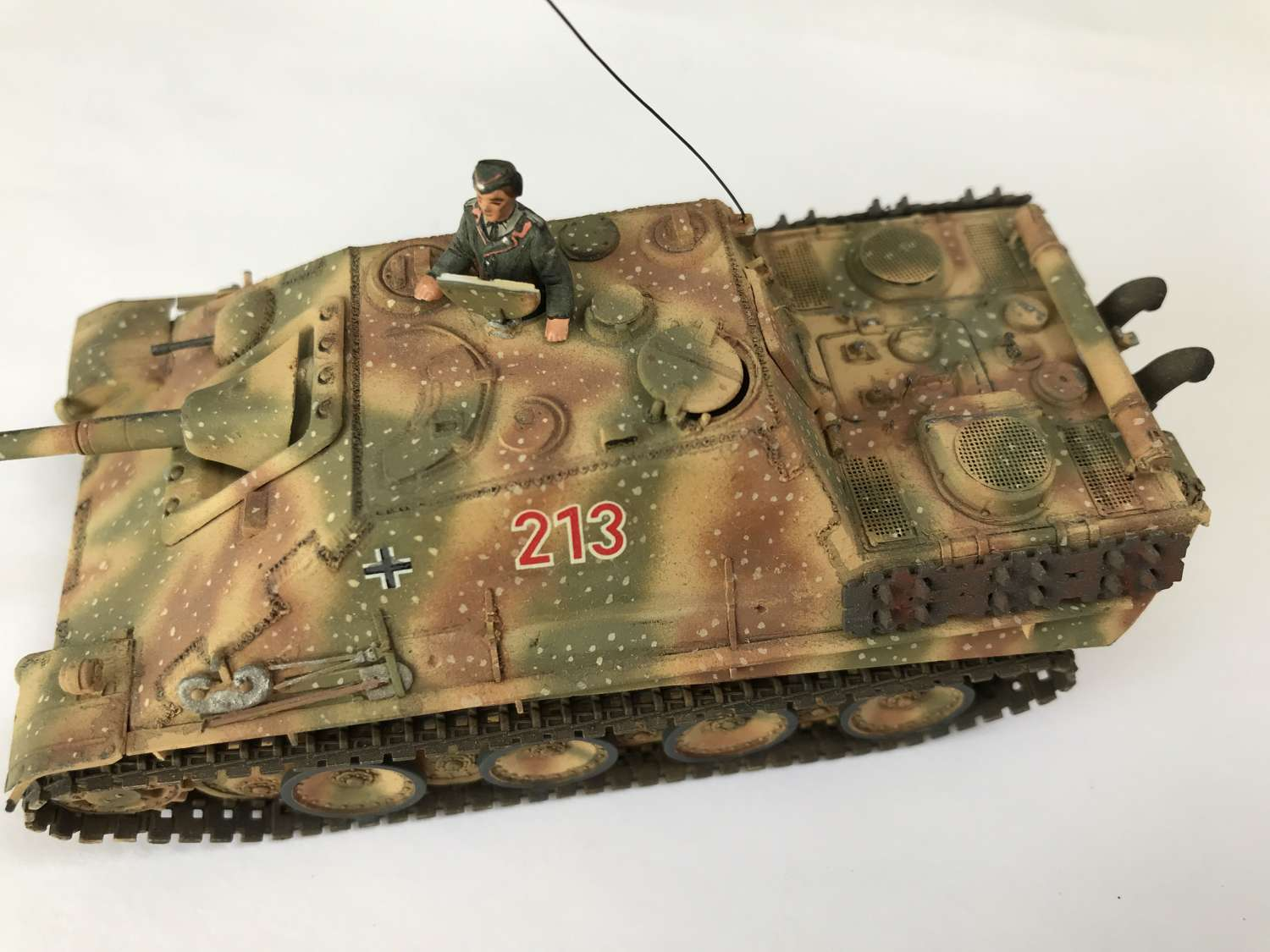 Model Jagdpanther 1/72 scale