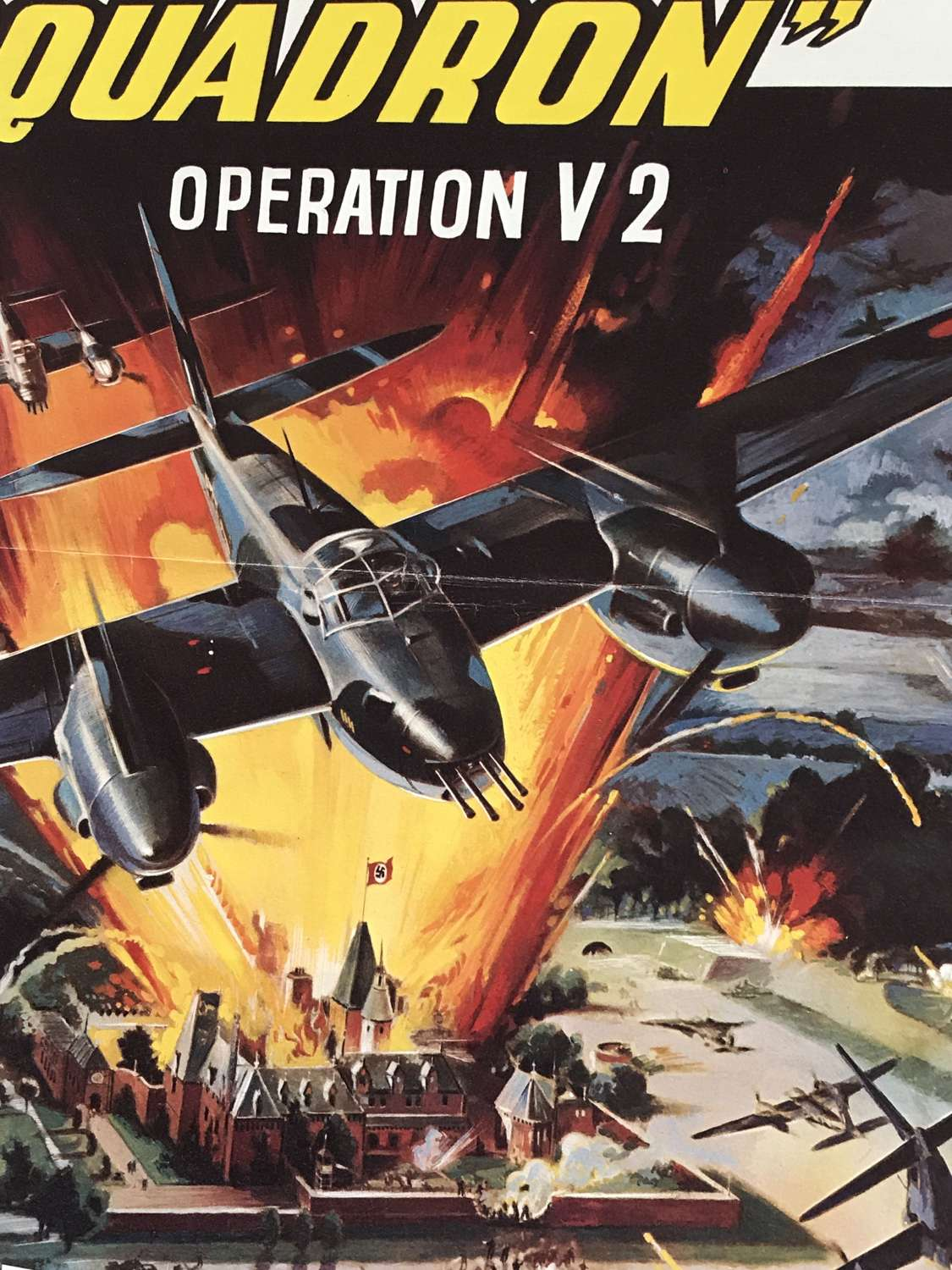 A Continental Film poster Titled  mosquito Squadron