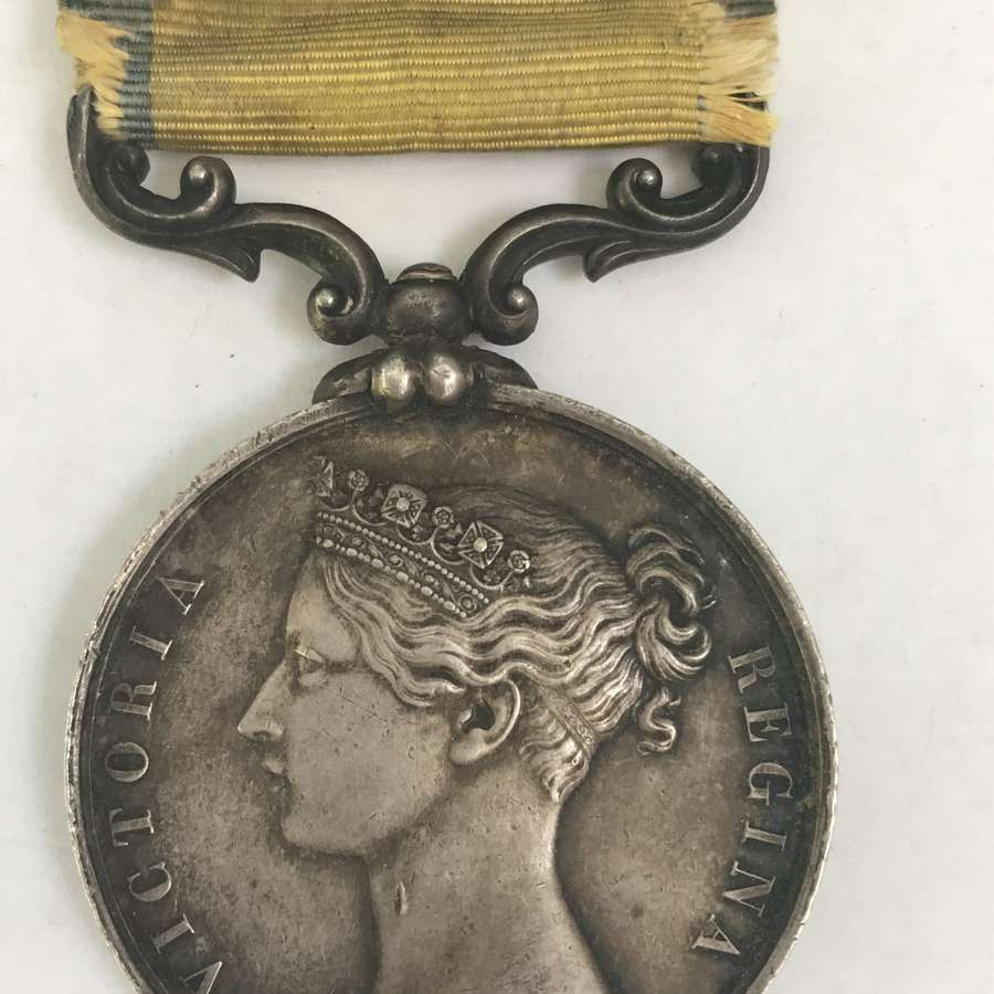 Victorian Baltic medal with original ribbon