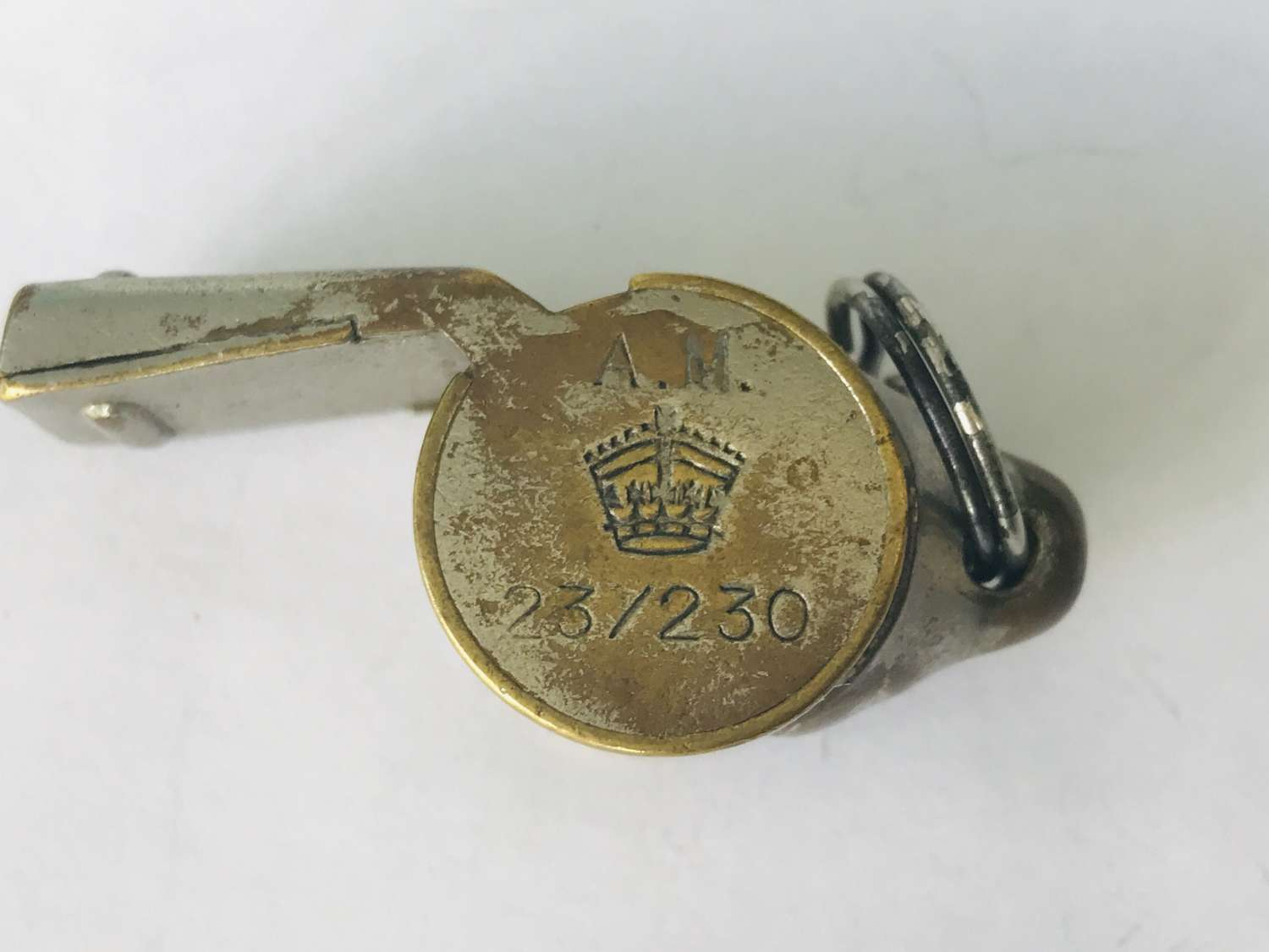 RAF Aircrew whistle snail  version probably 1943