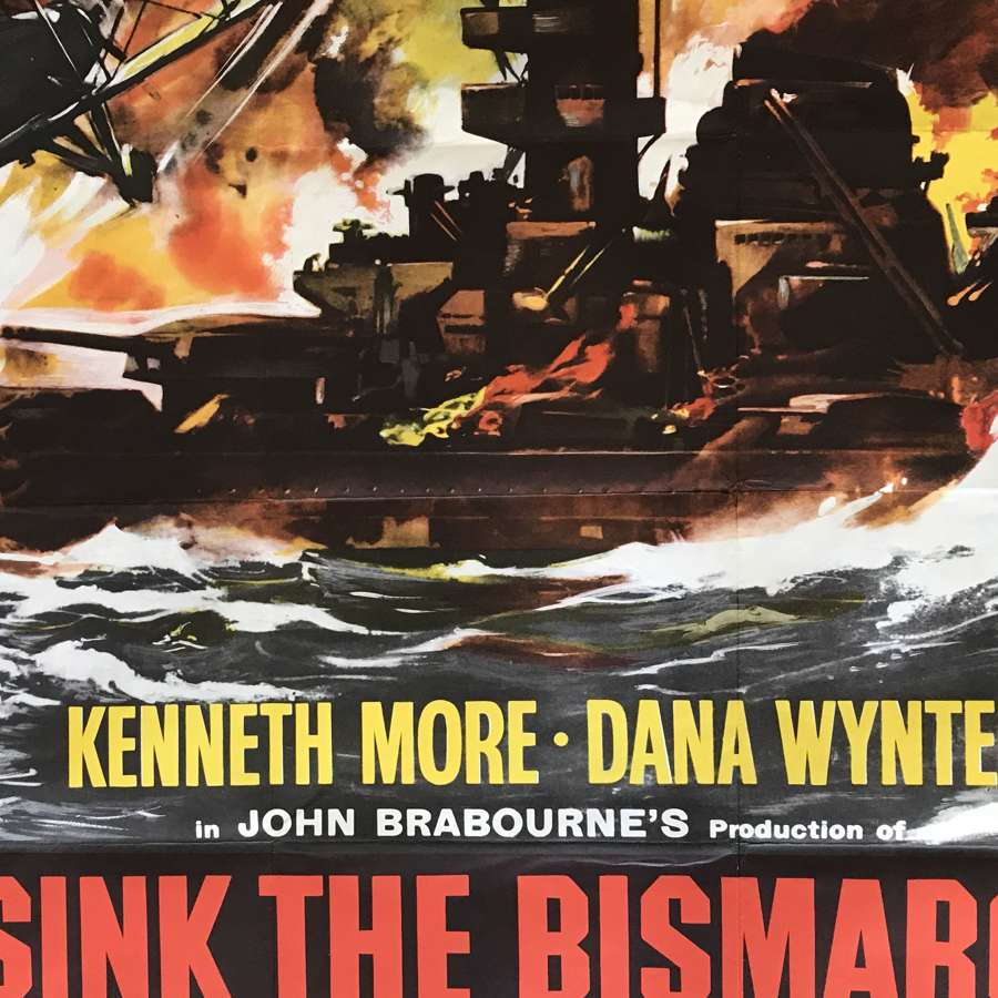 Sink the Bismarck film poster