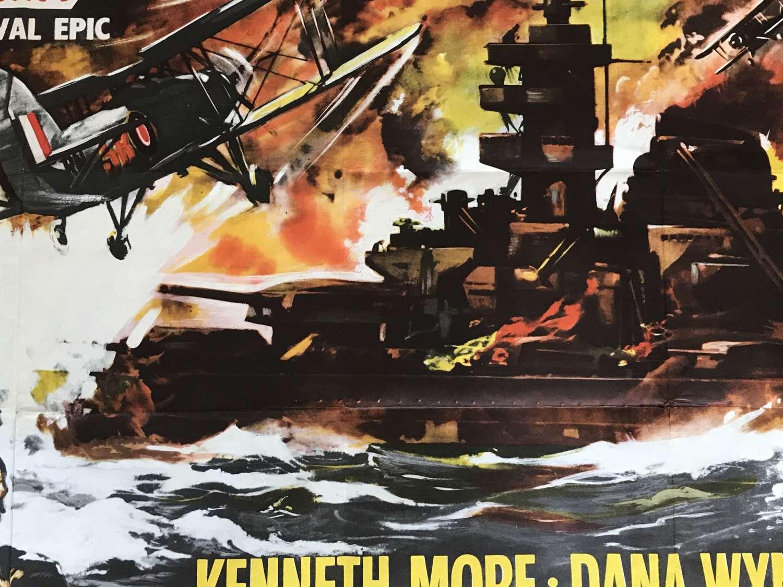 Sink the Bismarck film poster