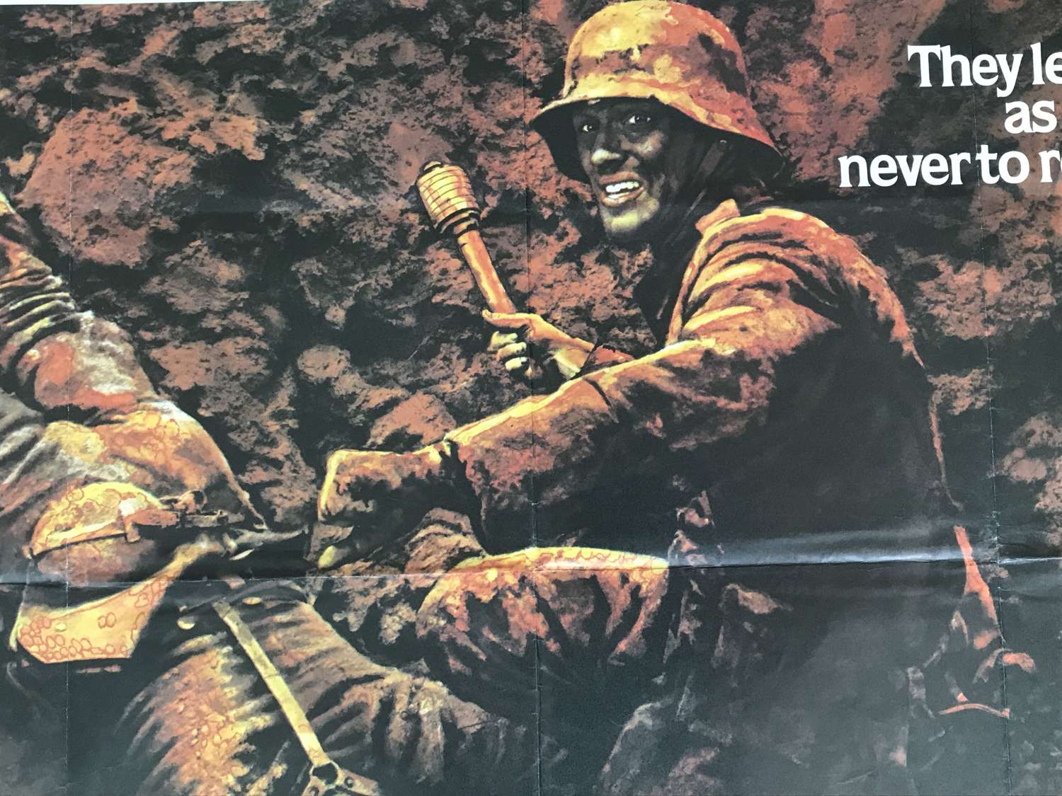 All quiet on the Western front film poster