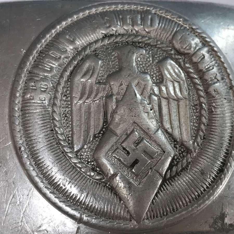 Aluminium HJ belt buckle