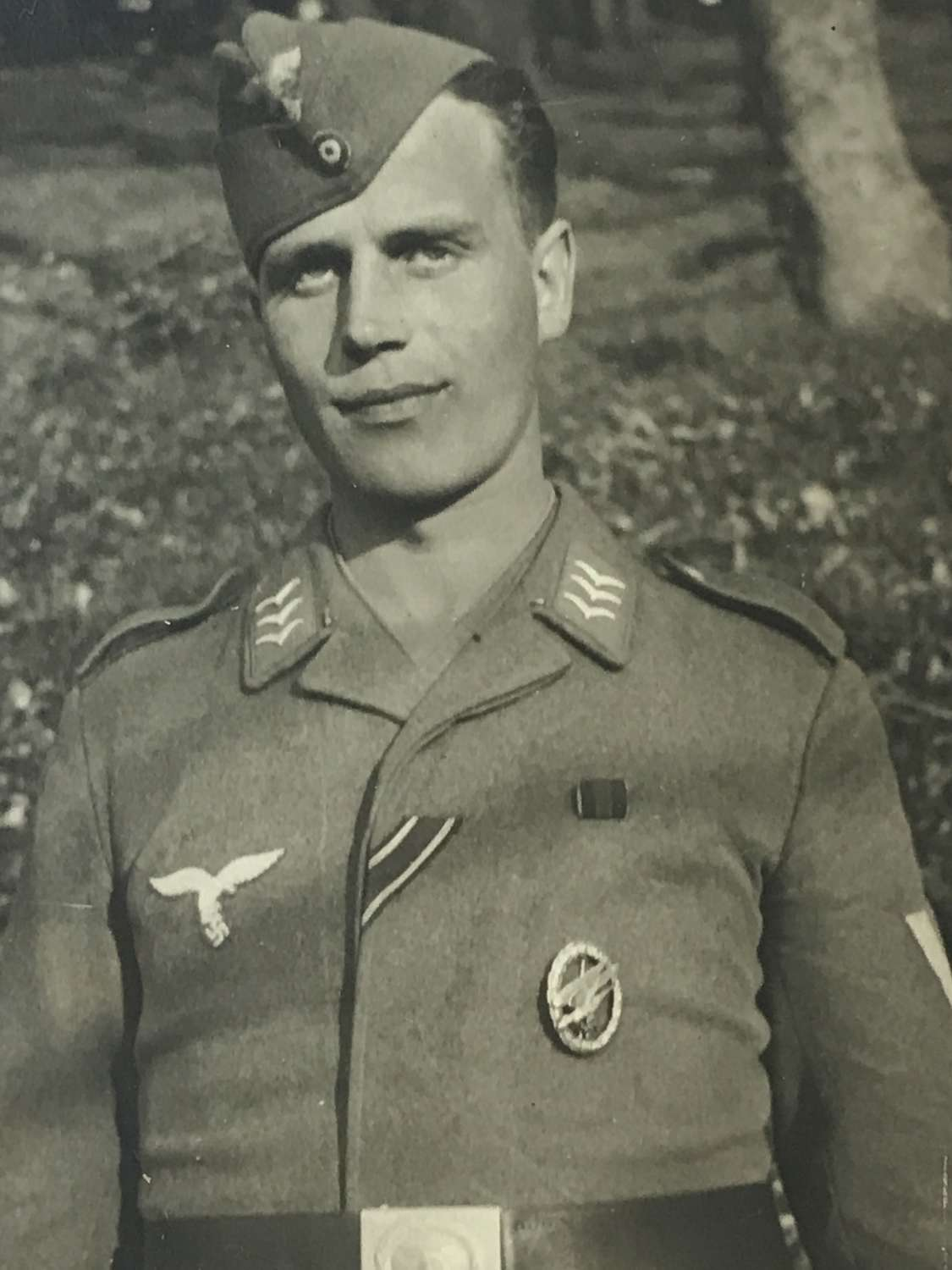 Portrait photo of a Fallschirmjager