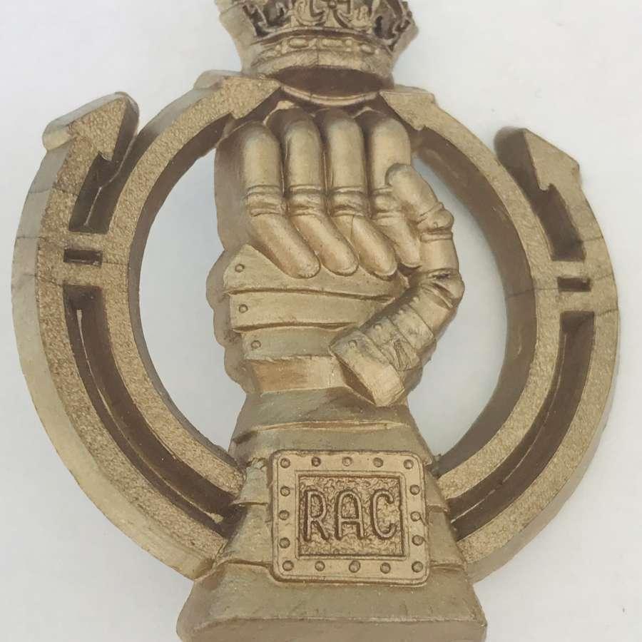 RAC plastic economy cap badge