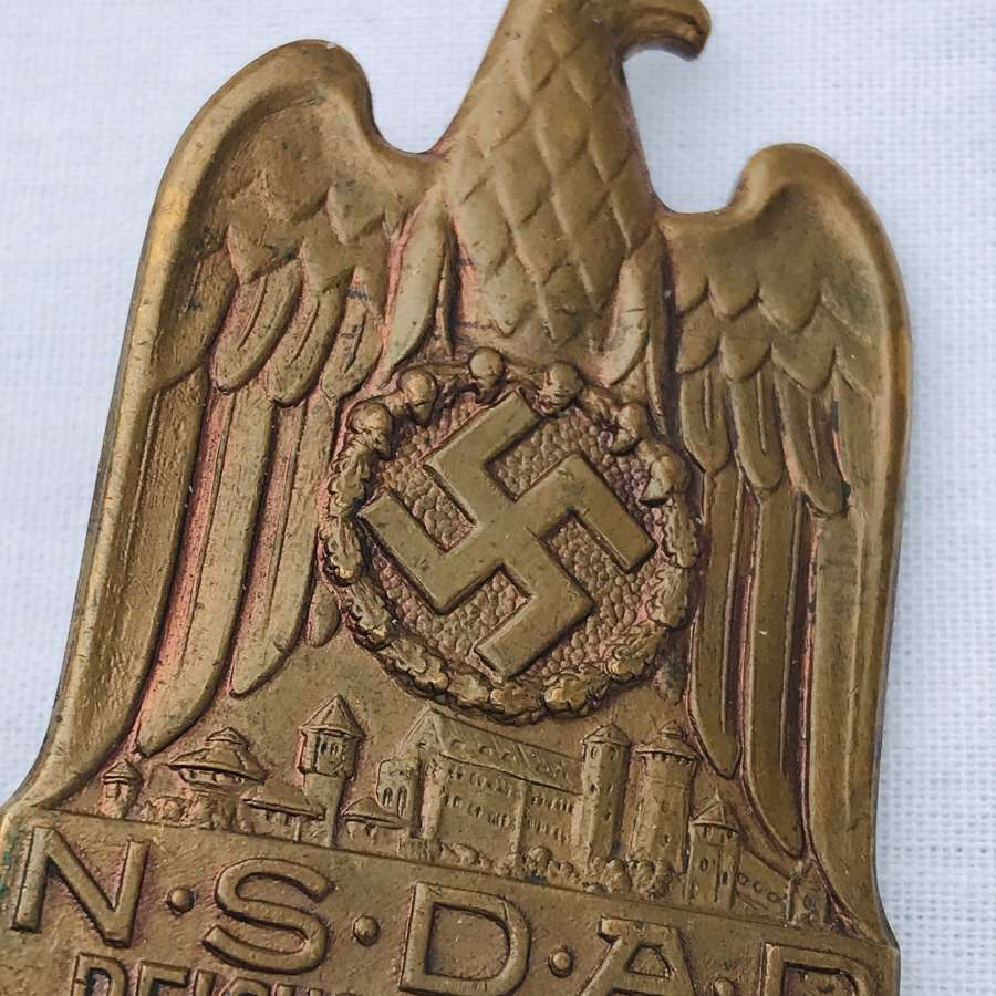 NSDAP 1933 National party day badge