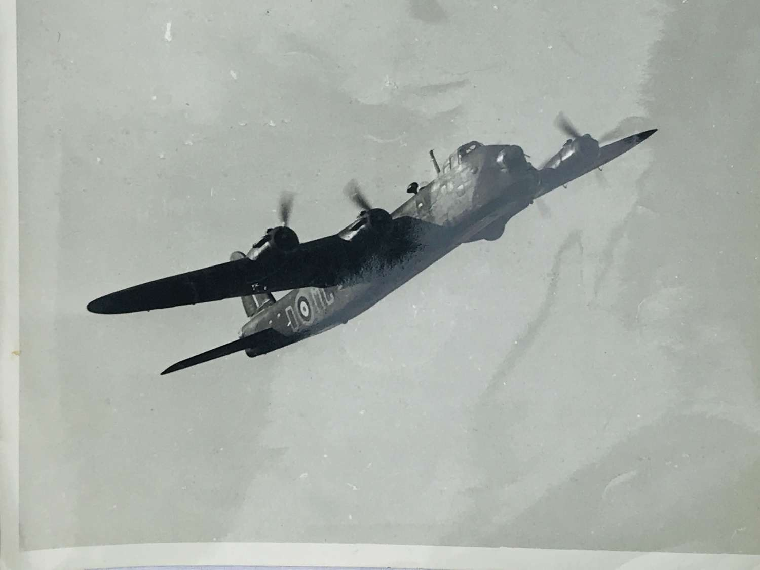 Air Ministry photograph of a Short Stirling bomber