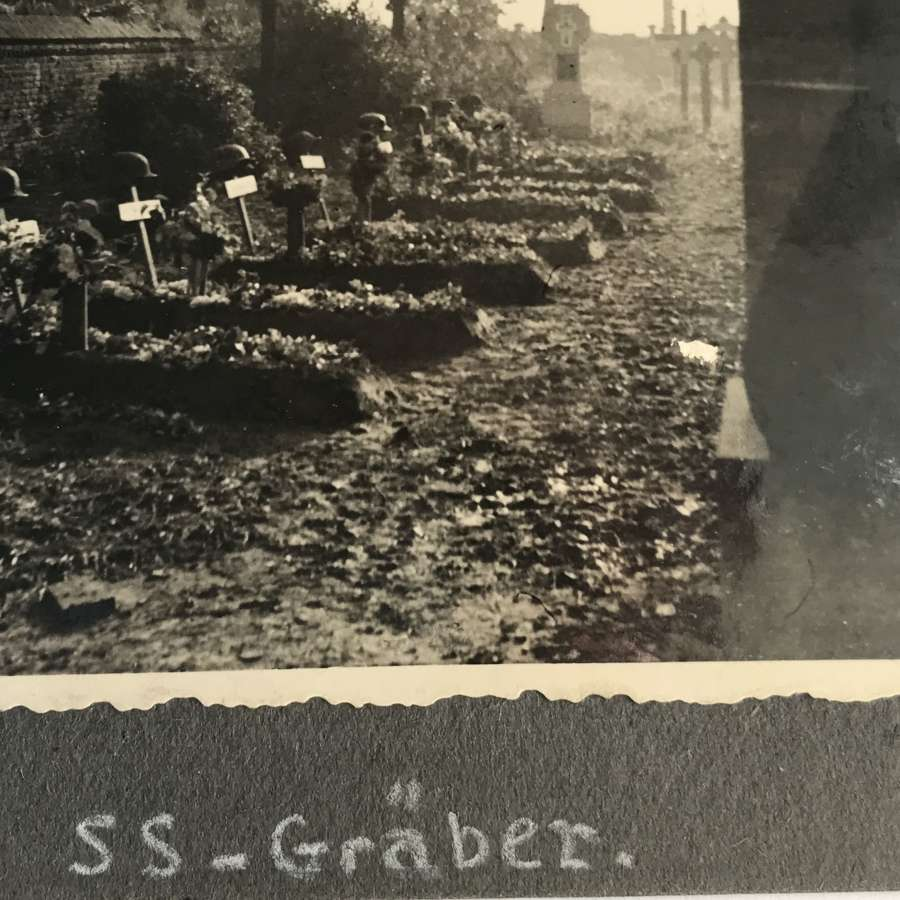 SS cemetery photograph