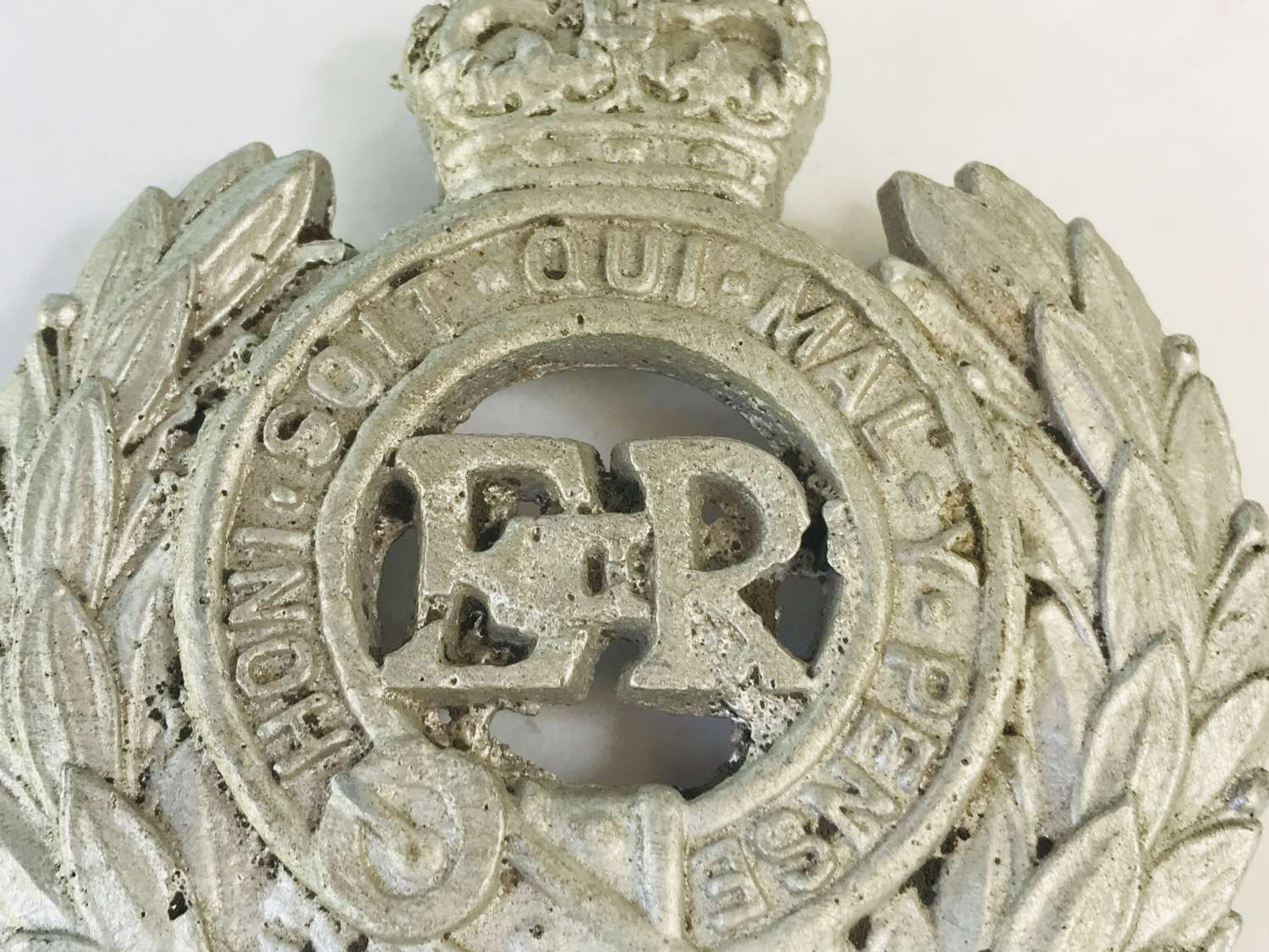 Aluminium Royal engineers vehicle badge