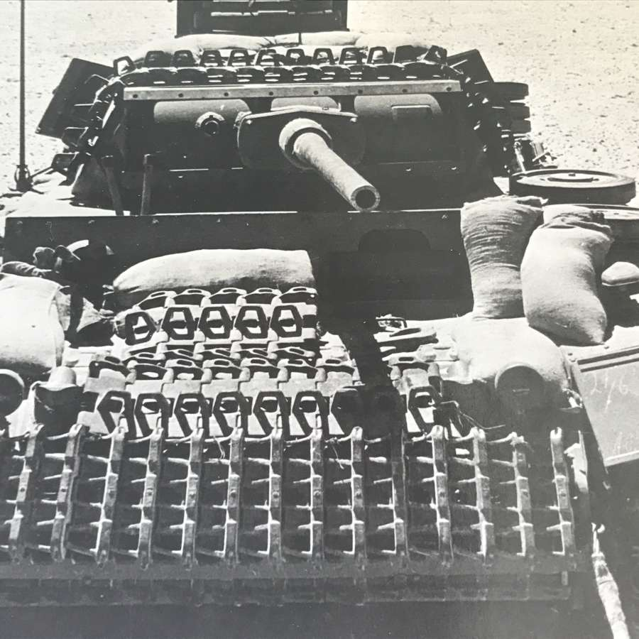 Captured  Mark 3 Panzer Press photo dated 1942