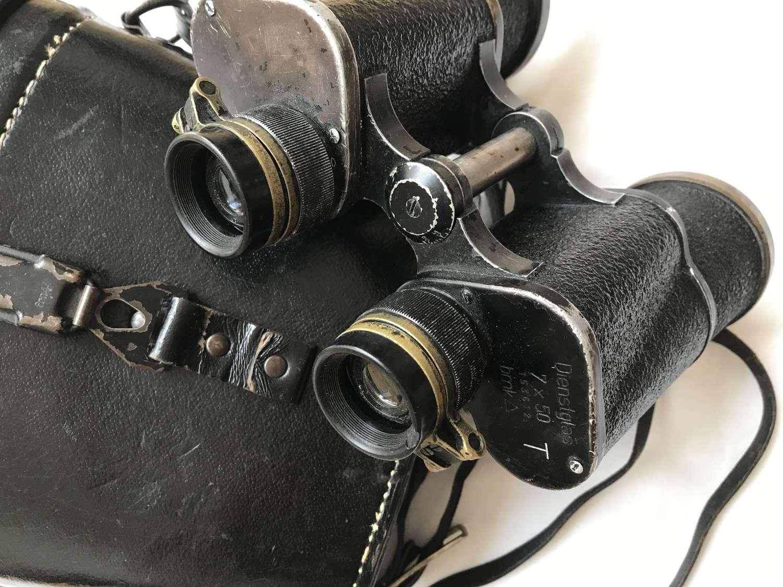 7x50 bmk Army binoculars with case dated 1944