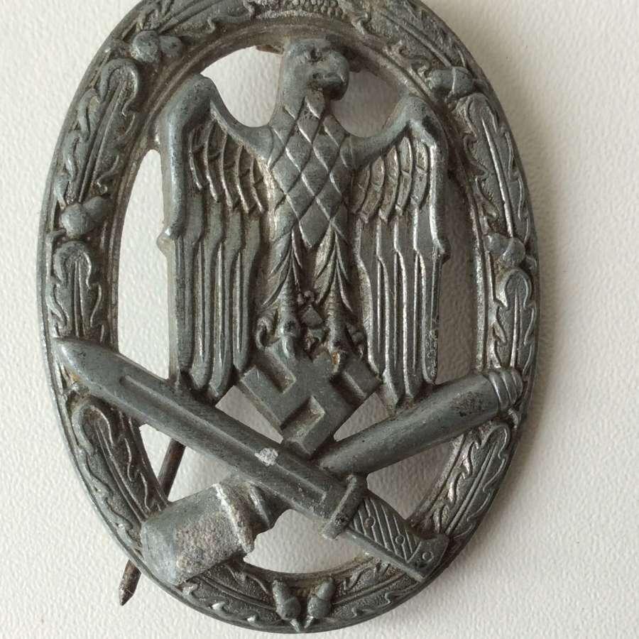 German general assault badge