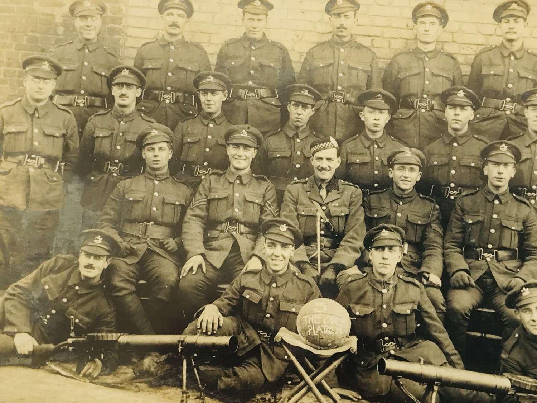 WW1 Kings Liverpool's grouping