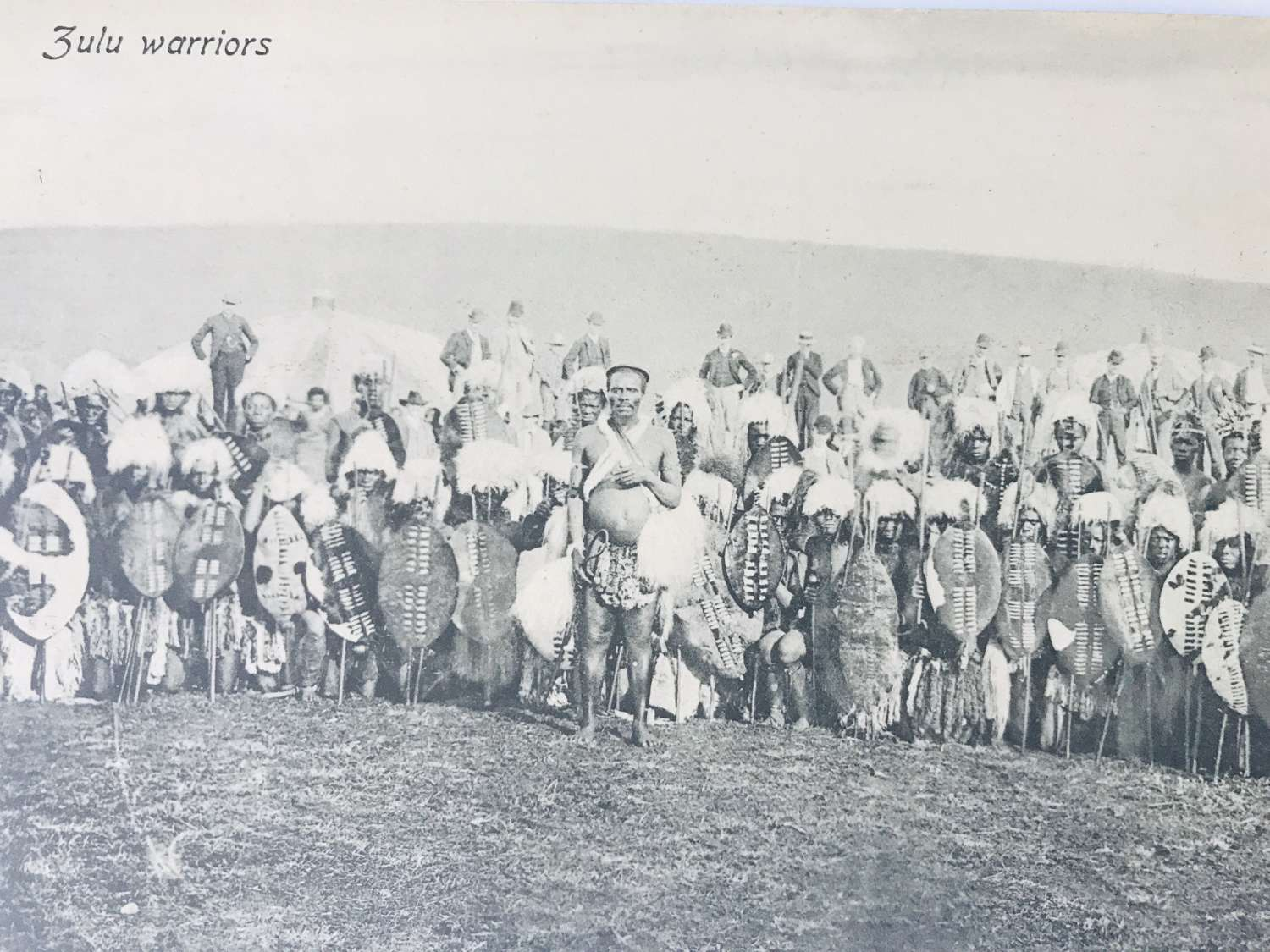 Early 20th century Zulu postcard