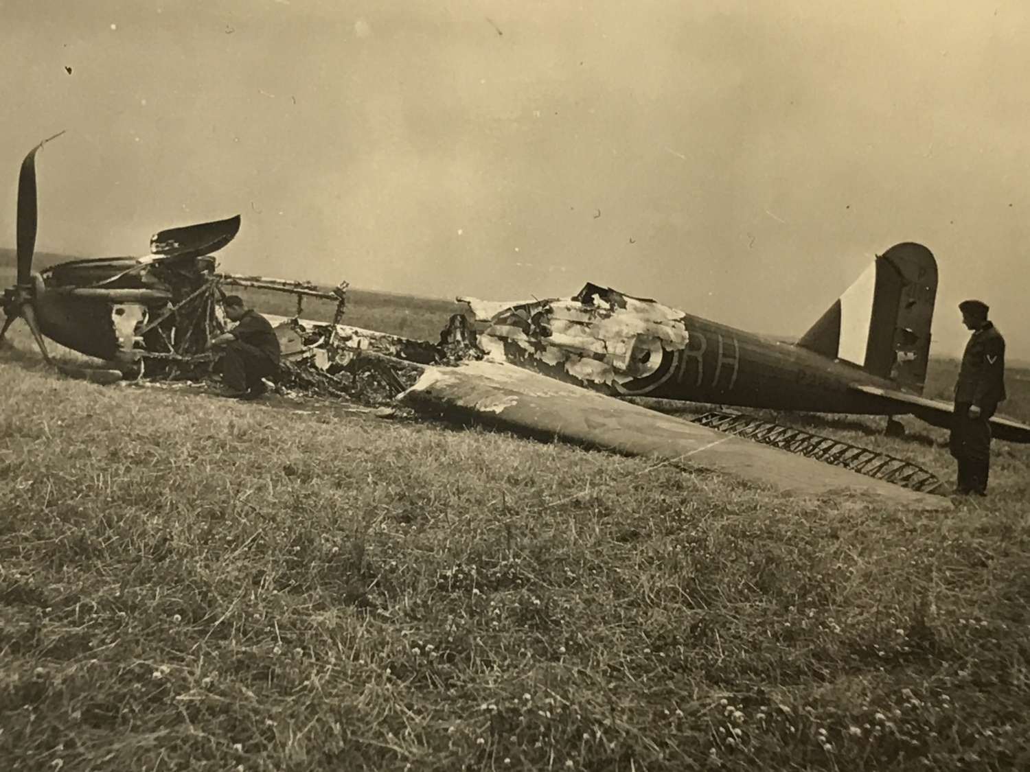 Downed Fairy Battle May 1940