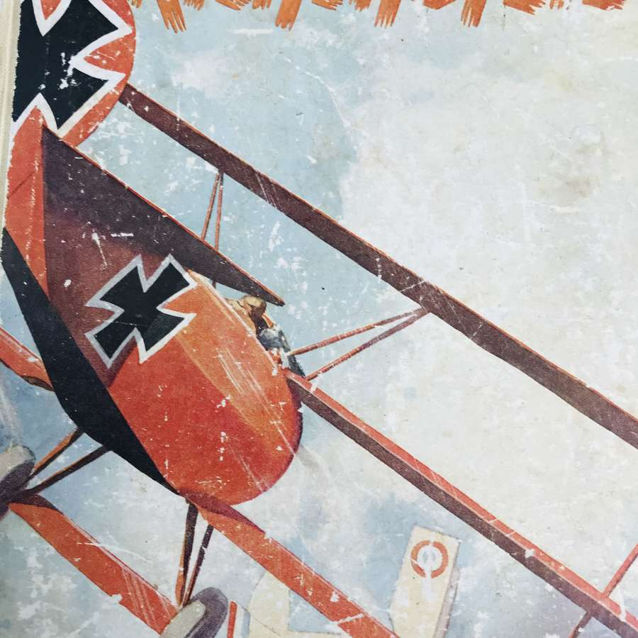 Richthofen Book published 1937