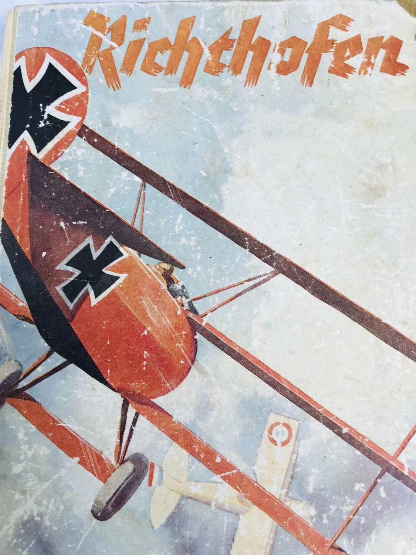 Richthofen Book published 1937