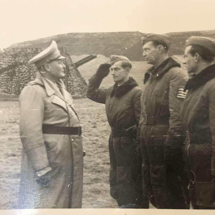Hermann Goring Inspecting aircrew
