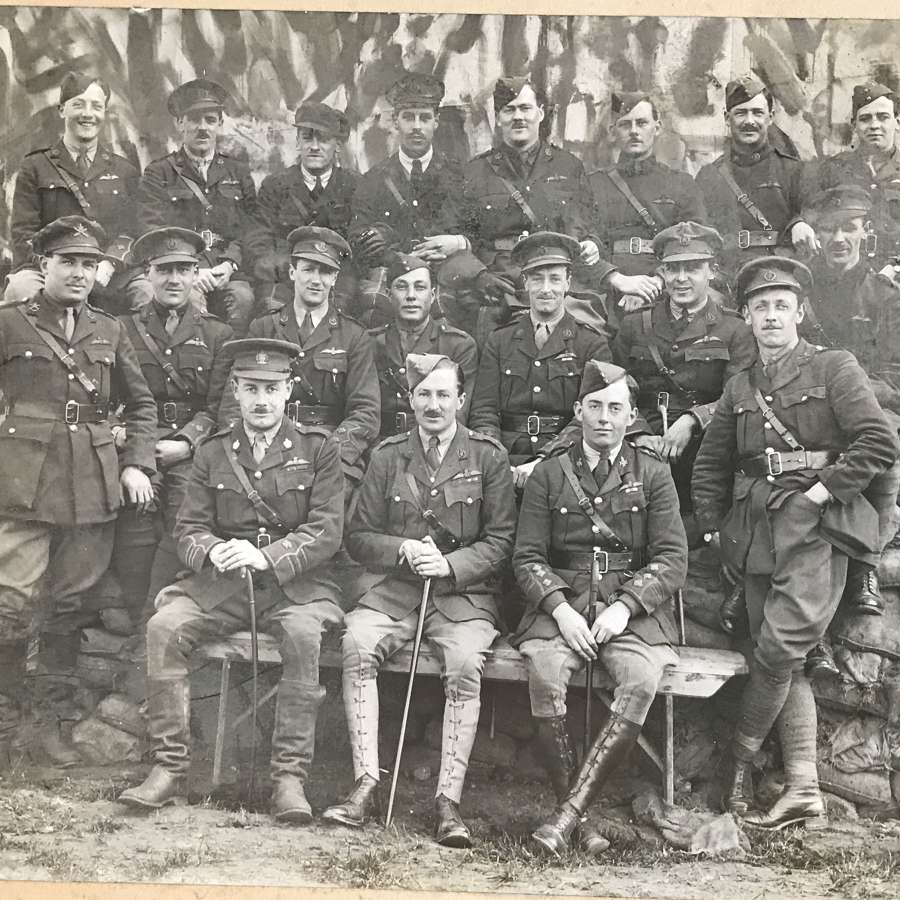 Image of Royal flying Corps officers