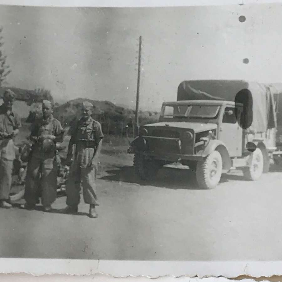 A small group of Luftwaffe photos Albania 1943