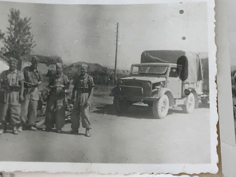 A small group of Luftwaffe photos Albania 1943