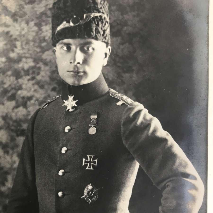 Hauptmann Hans Buddecke Sanke card