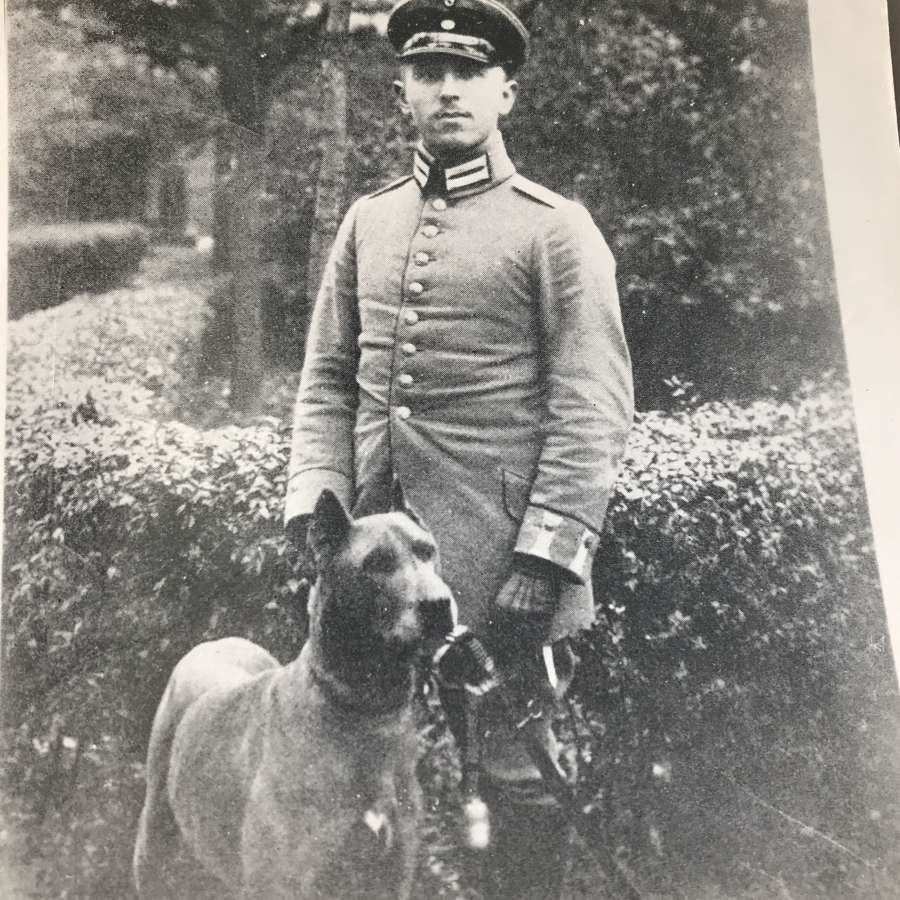 A Photo of Max Immelmann Fokker ace