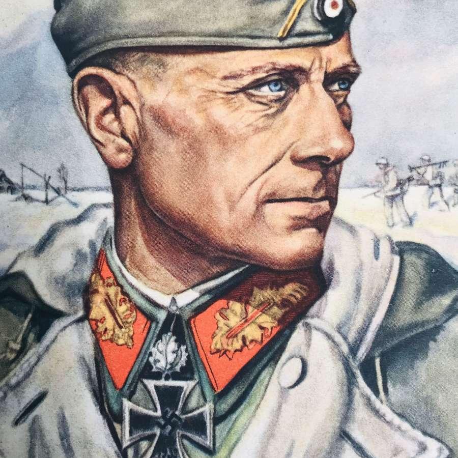A Postcard Of genralleutnant Von  Lützow