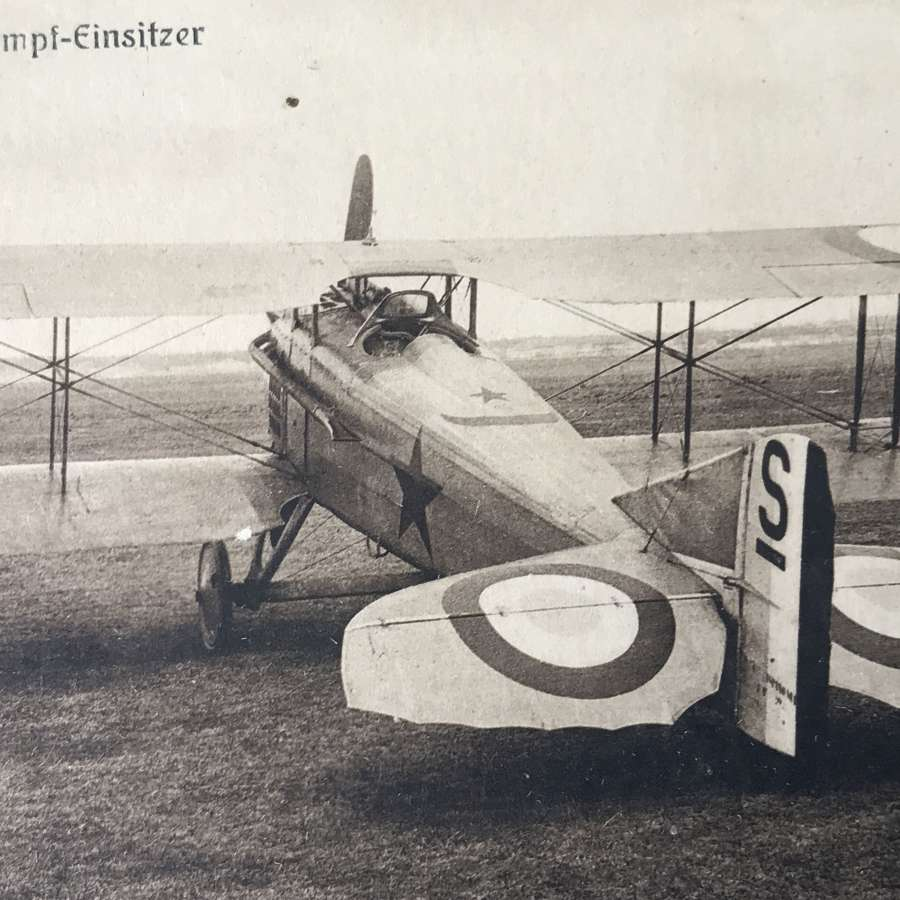Captured  French Spad Fighter