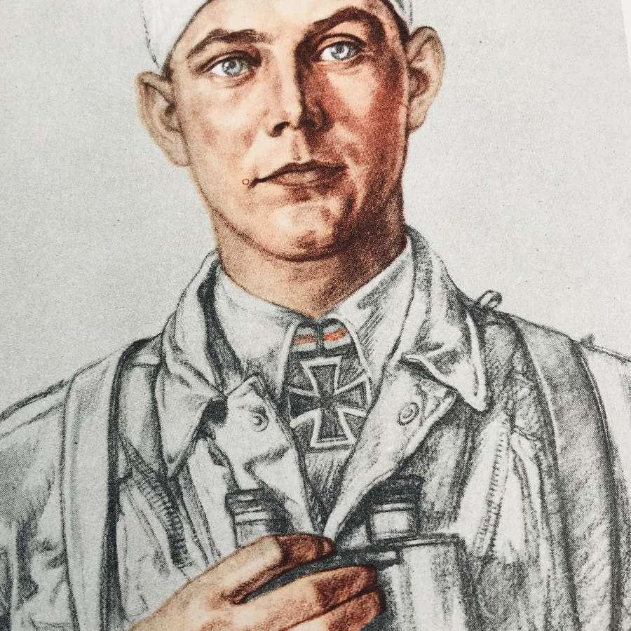 Willrich postcard of Major Koch
