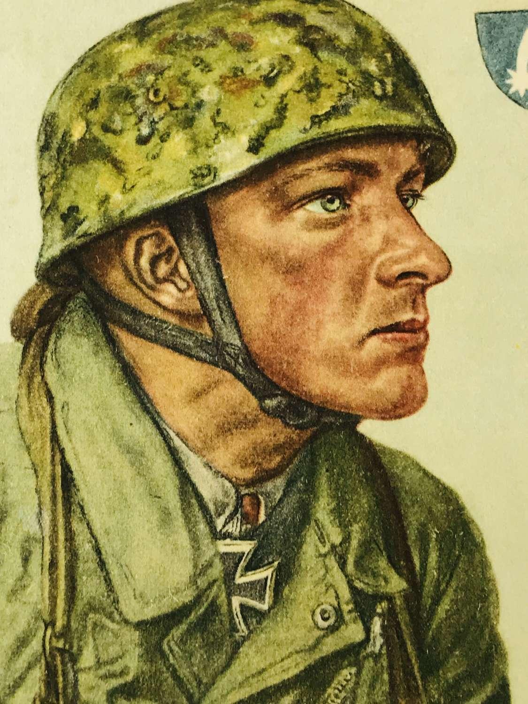 Willrich card of Feldwebel Arpke
