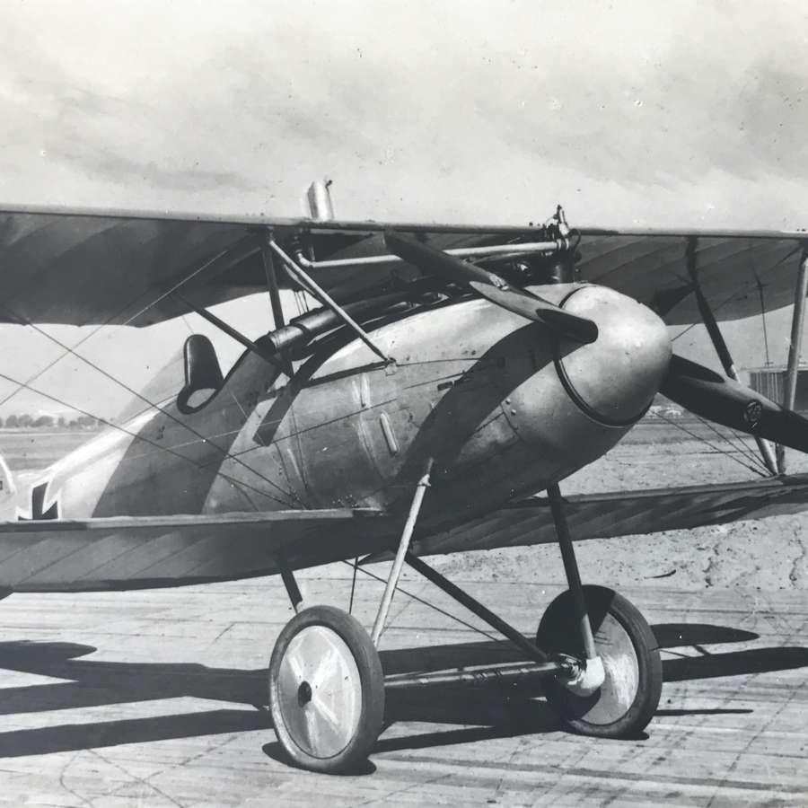 Albatros fighter (Sanke card)