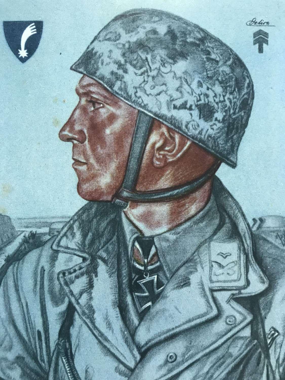 Hauptmann Delica Willrich postcard