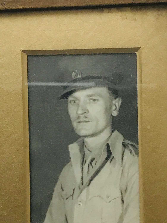 British army photo group from Burma 1946
